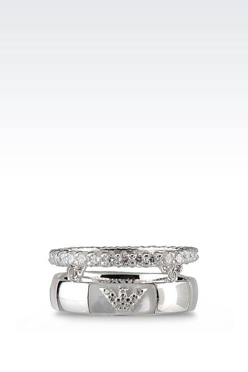 Jewelry: Rings Women by Armani - 1