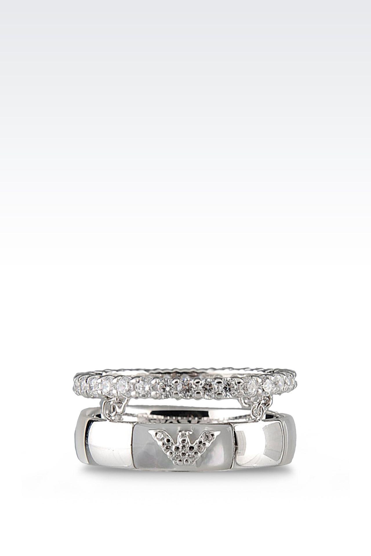 Jewelry: Rings Women by Armani - 0