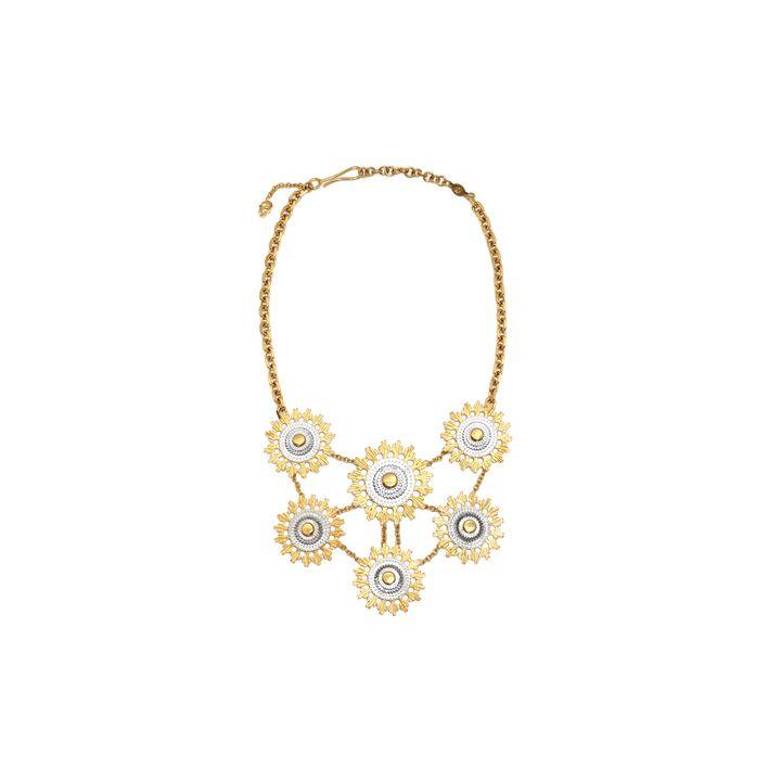 Alexander McQueen, Skull Flower Necklace