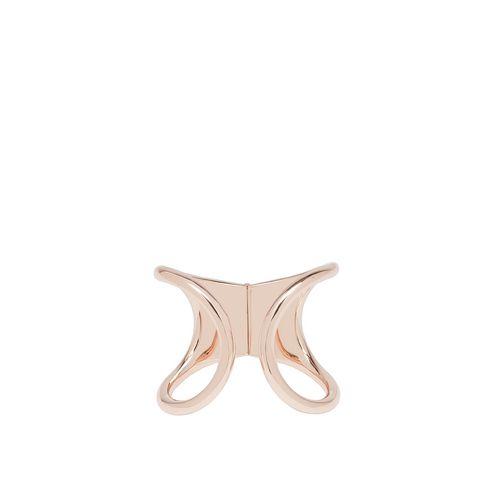 Balenciaga Rose Gold Cage Bracelet