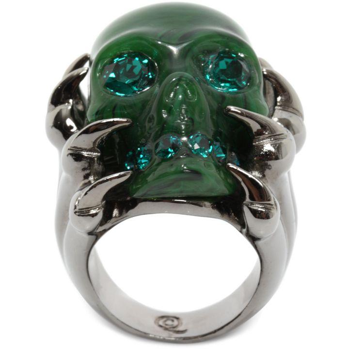 Alexander McQueen, Bague Claw Skull