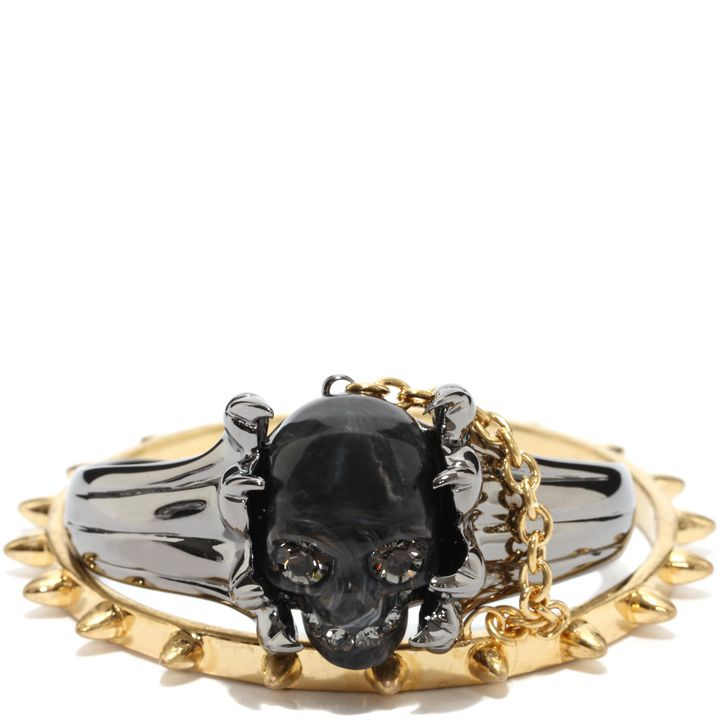Alexander McQueen, Claw Skull Double Bangle