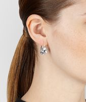 EARRINGS IN SILVER AND STONES