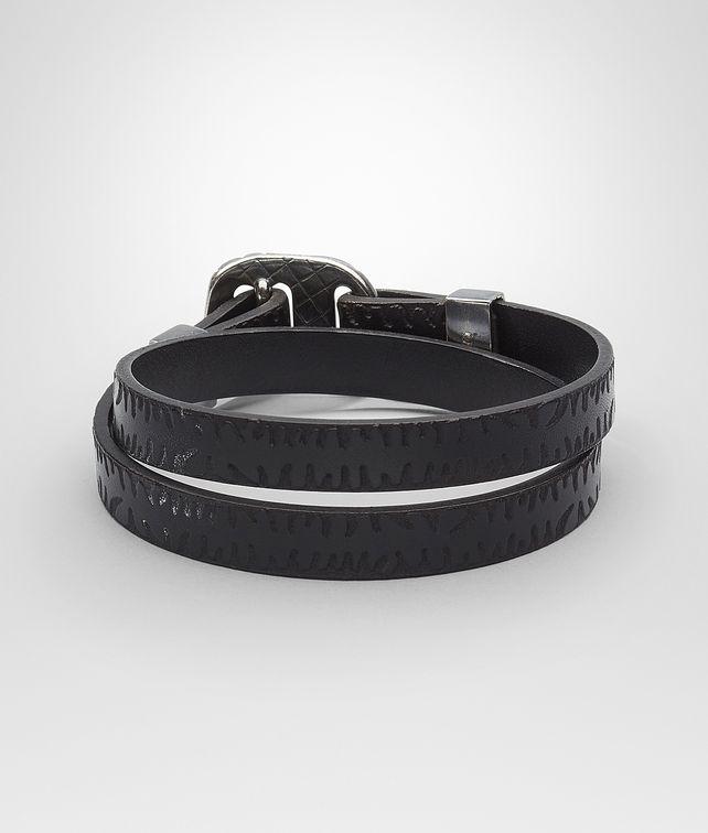 BOTTEGA VENETA BRACELET IN NERO CALF Bracelet U fp