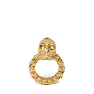 ALEXANDER MCQUEEN, Ring, Jewelled Skull Ring