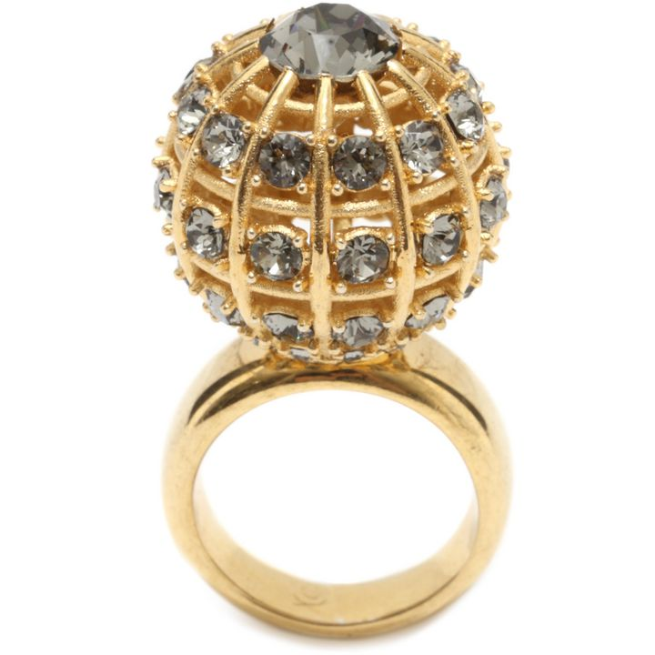 Alexander McQueen, Jewelled Sphere Ring