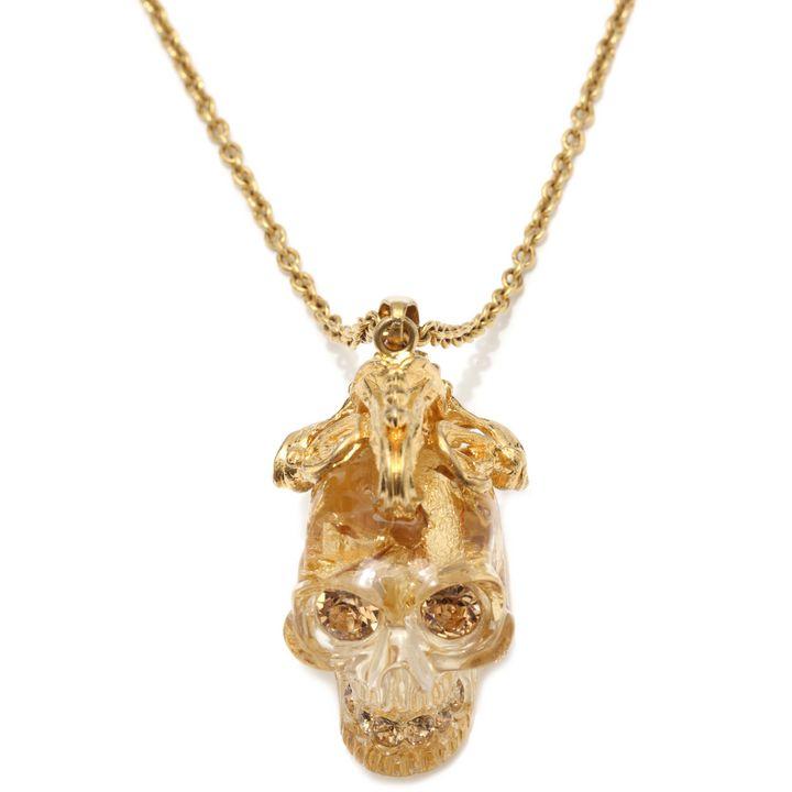 Alexander McQueen, Art Nouveau Skull Pendant