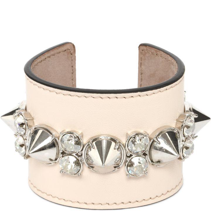 Alexander McQueen, Spike Leather Cuff