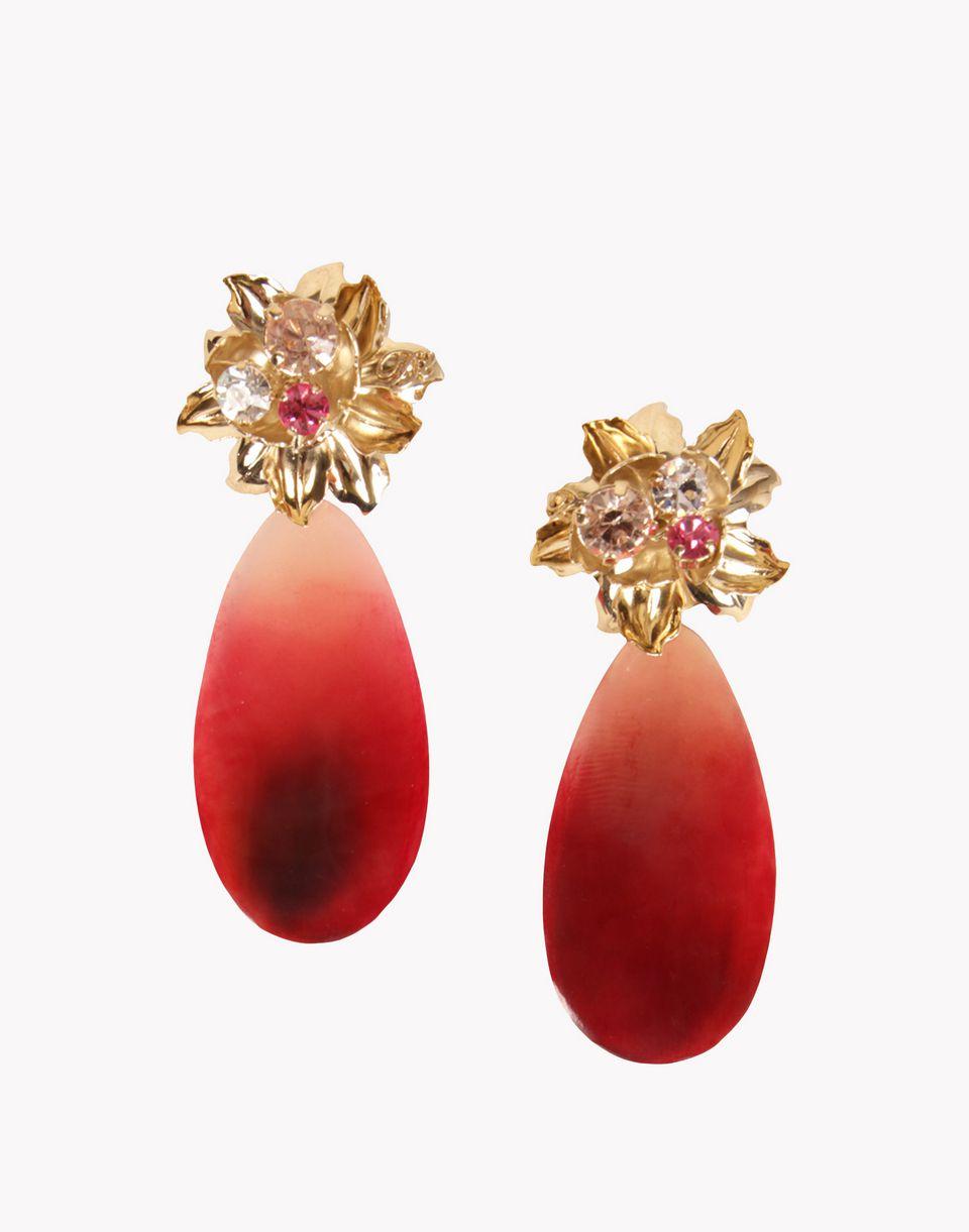 winter flower earrings schmuck Damen Dsquared2