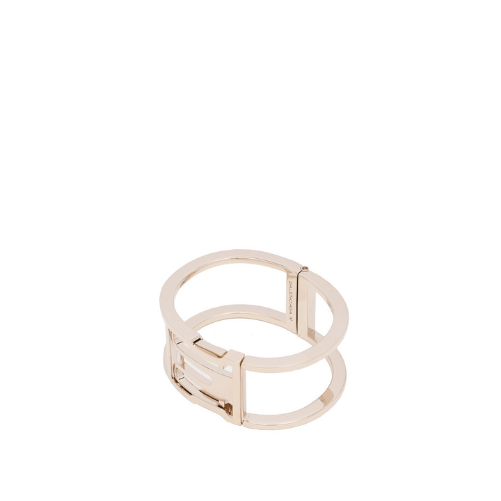 Balenciaga Pale Gold Buckle Bracelet