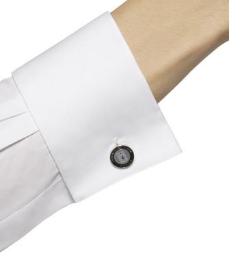ERMENEGILDO ZEGNA: Cufflinks Black - 50163389DL
