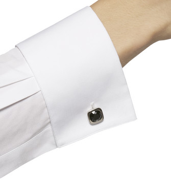 ERMENEGILDO ZEGNA: Cufflinks Black - 50163397FO
