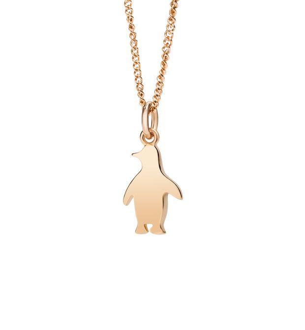 Preferenza Girocollo Petit Dodo Pinguino - Oro Rosa 9 Ct - Dodo | Official  AK67