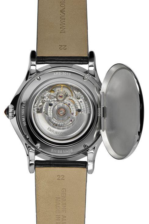 emporio armani men swiss made automatic watch alligator strap swiss made automatic watch alligator strap swiss made watches men by armani 2