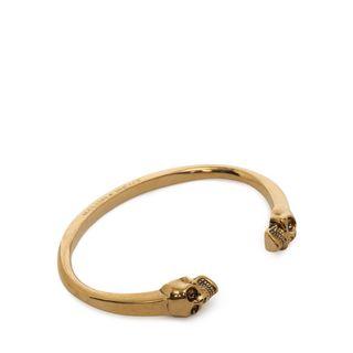 ALEXANDER MCQUEEN, Bracelet, Twin Skull Bracelet