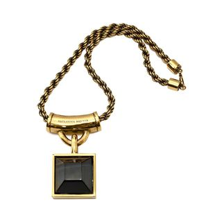 ALEXANDER MCQUEEN, Necklace, Square Enamel Necklace