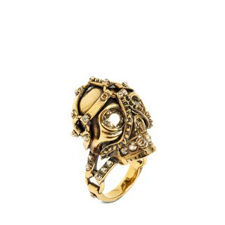 ALEXANDER MCQUEEN, Ring, Harness Skull Ring