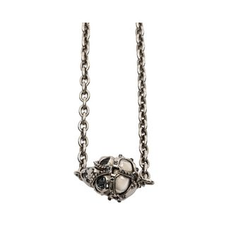 ALEXANDER MCQUEEN, Necklace, Harness Skull Pendant