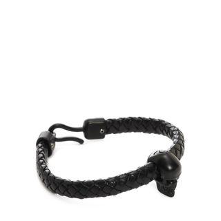 ALEXANDER MCQUEEN, Bracelet, Leather Skull Bracelet