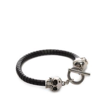 ALEXANDER MCQUEEN, Bracelet, T Bar Skull Bracelet