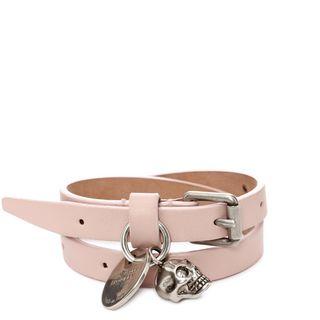 ALEXANDER MCQUEEN, Bracelet, Double Wrap Skull Bracelet