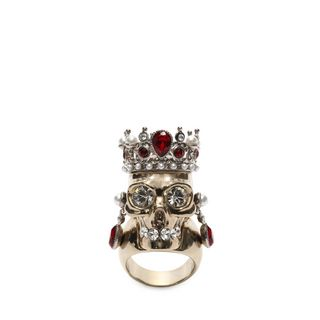 ALEXANDER MCQUEEN, Ring, Royal Skull Ring