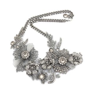 ALEXANDER MCQUEEN, Necklace, Jewelled Floral Necklace
