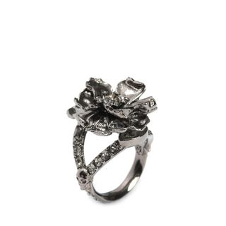 ALEXANDER MCQUEEN, Ring, Jewelled Floral Ring