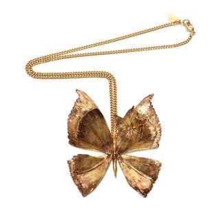 ALEXANDER MCQUEEN, Collana, Collana Butterfly in Metallo