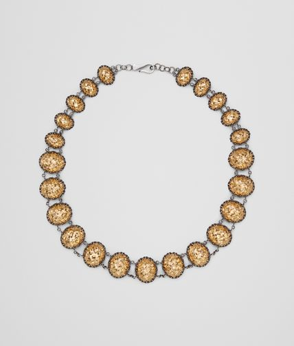 NECKLACE IN YELLOW GOLD PLATED SILVER