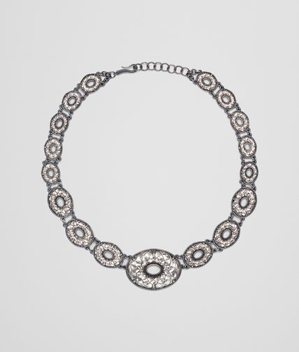 NECKLACE IN INTRECCIATO SILVER