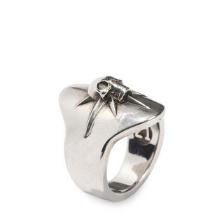 ALEXANDER MCQUEEN, Ring, Kleiner Ring mit Skull und Stern