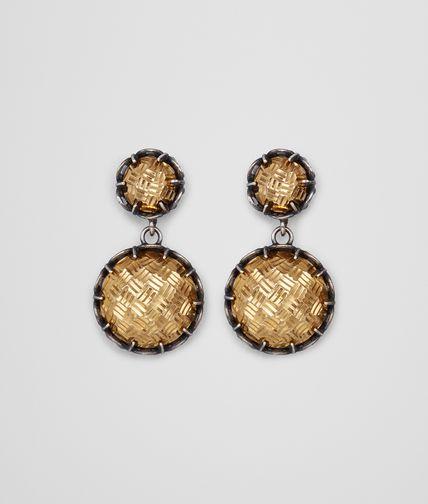 镀黄金银耳环