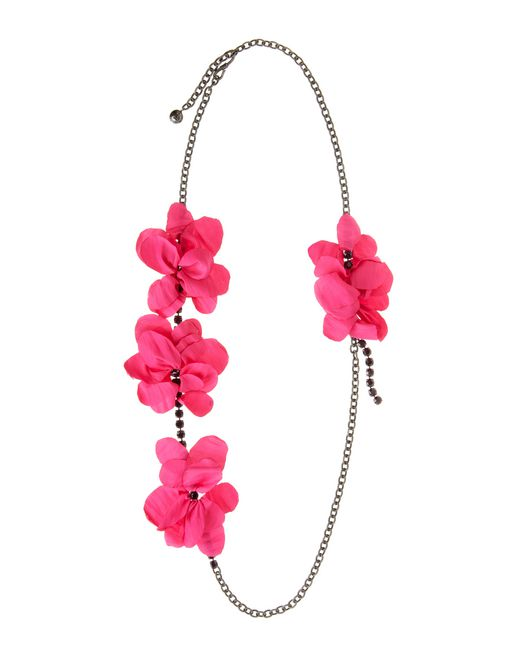 lanvin gina strand necklace women
