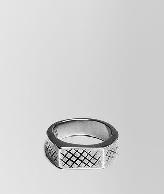 RING IN SILVER WITH INTRECCIATO DETAILS