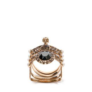 ALEXANDER MCQUEEN, Ring, Spider Skull Ring