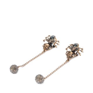 ALEXANDER MCQUEEN, Earring , Spider Skull Earrings