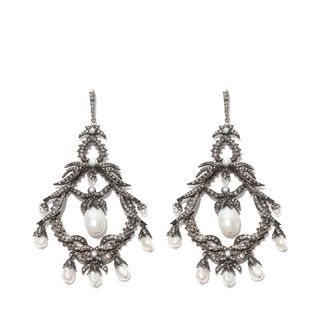 ALEXANDER MCQUEEN, Earring, Giant Drop Earrings
