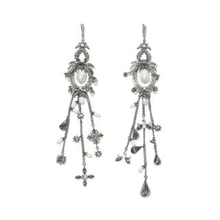 ALEXANDER MCQUEEN, Earring , Earrings with Fringes