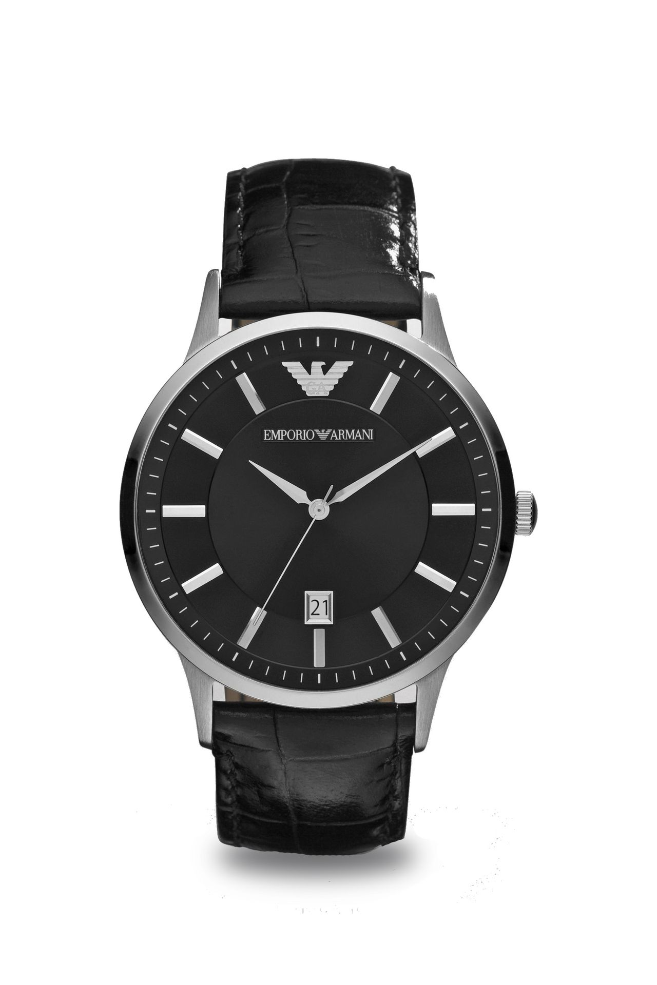emporio armani men watch leather armani com fashion watches watches men by armani 0