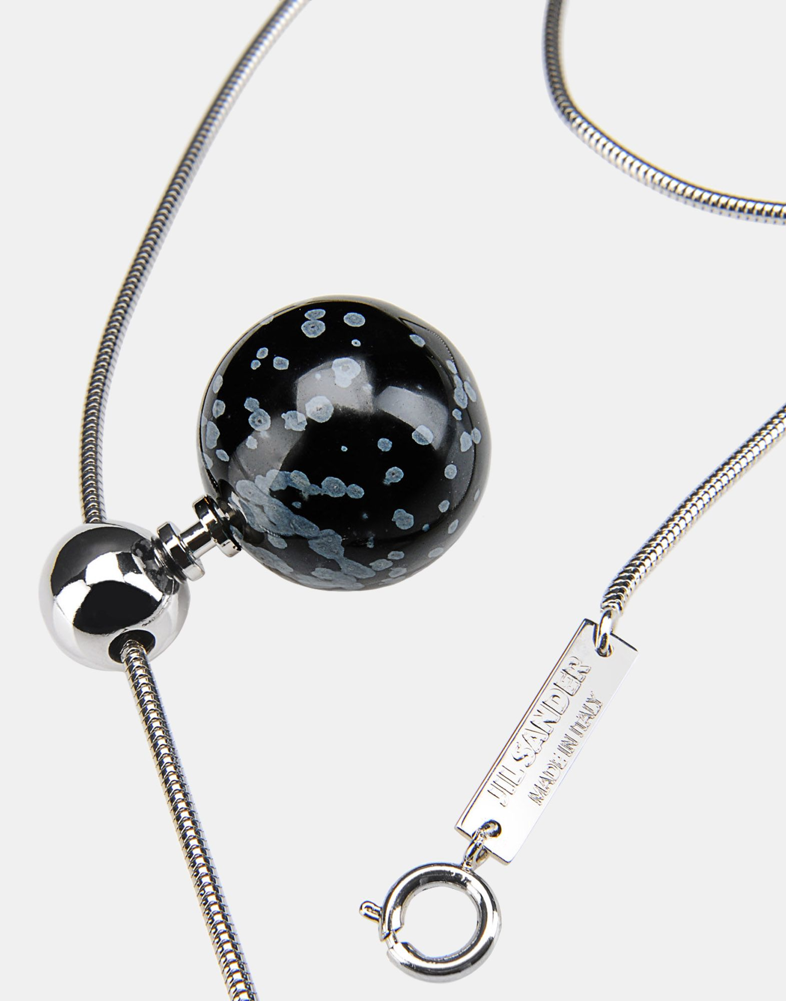 necklace jewelry on jil sander store