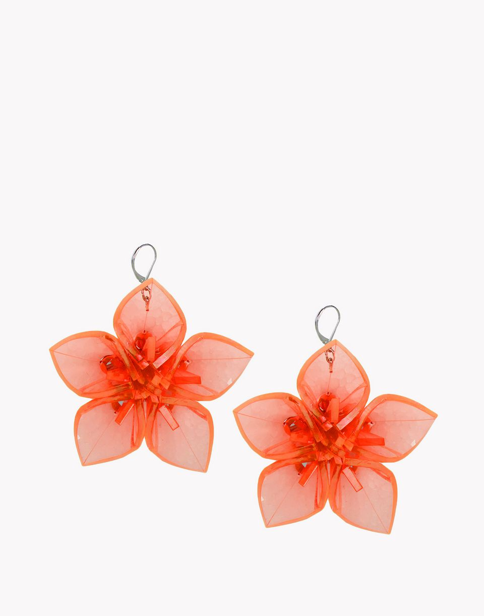 techno flowers earrings jewels Woman Dsquared2