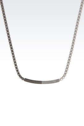 Armani Necklace Men steel necklace