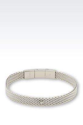 Armani Bracelet Men steel bracelet