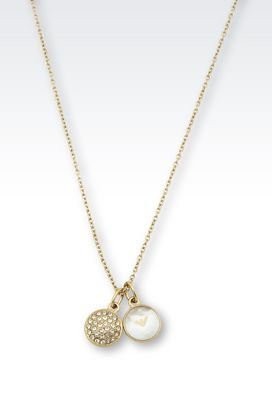 Armani Necklace Women necklace in gold-plated steel