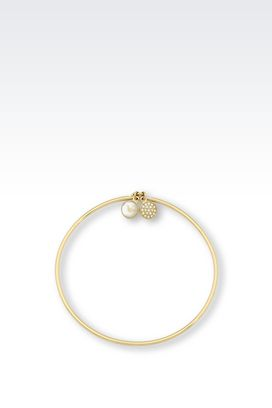 Armani Bracelet Women bracelet in gold-plated steel