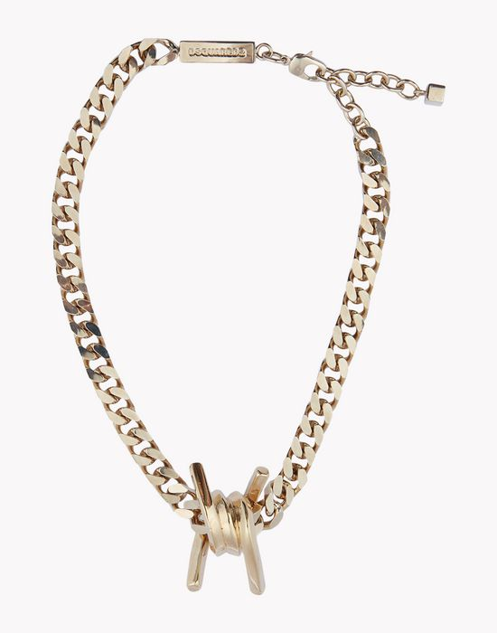 babe wire necklace jewels Woman Dsquared2