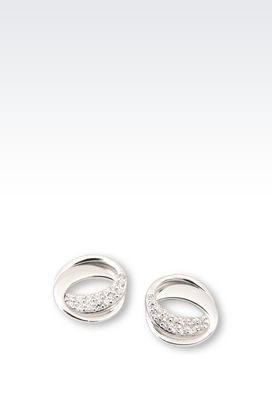 Armani Earrings Women earrings in sterling silver