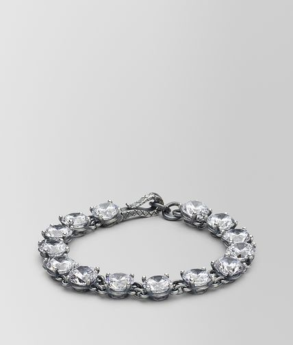 BRACELET SILVER AND NATURALE CUBIC ZIRCONIA
