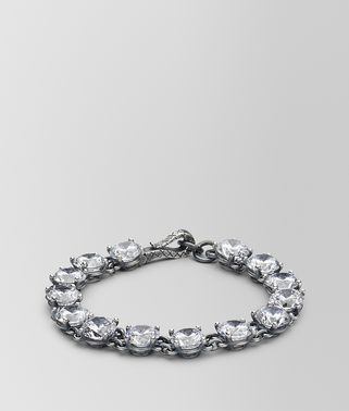 BRACELET IN SILVER AND NATURAL CUBIC ZIRCONIA